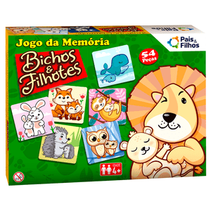 Jogo-da-Memoria-Bichos-e-Filhotes---Pais---Filhos
