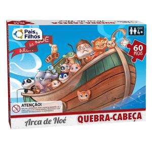 Quebra-Cabeca-60-Pecas-Arca-de-Noe---Pais-e-Filhos