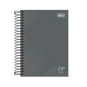 Agenda-Espiral-Zip-Cinza-M5-2021---Tilibra