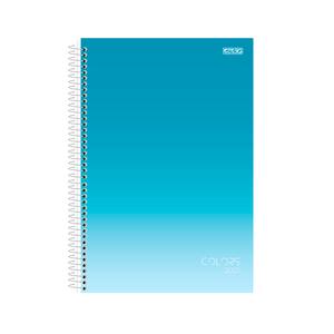 Agenda-Anual-Espiral-Colors-2021-Azul---Sao-Domingos