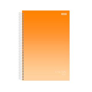 Agenda-Anual-Espiral-Colors-2021-Laranja---Sao-Domingos
