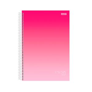 Agenda-Anual-Espiral-Colors-2021-Rosa---Sao-Domingos