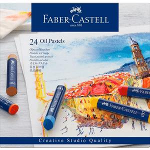 Giz-Pastel-Oleoso-Creative-Studio-24-Cores-Faber-Castell