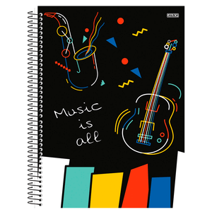 Caderno-de-Musica-Capa-Dura-80-fls---Sao-Domingos-1