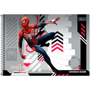 Cartografia-C.D.-80-fls-Tilibra---Spider-Man-2
