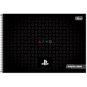 Cartografia-C.D.-80-fls-Tilibra---Playstation-1