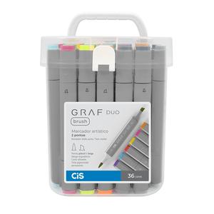 Graf-Duo-Brush-36-Cores-Cis