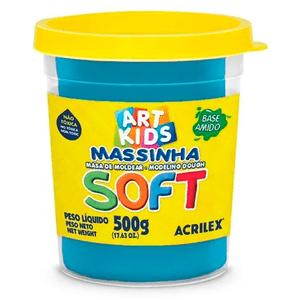 Massa-de-Modelar-Soft-Art-Kids-Acrilex-Azul