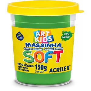 Massa-de-Modelar-Soft-Art-Kids-Acrilex-Verde
