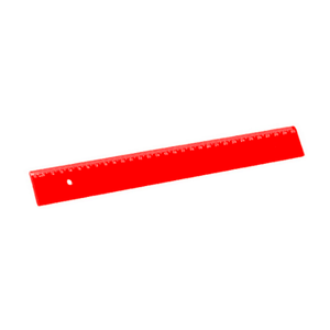Regua-Escolar-30CM-Vermelha-Acrimet