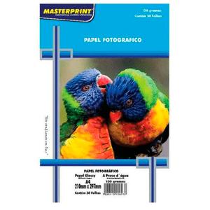 Papel-Fotografico-Glossy-A4-150G-Masterprint