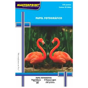 Papel-Fotografico-Glossy-A4-230G-Masterprint