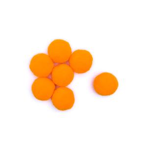 Pompom-Solto-10mm-com-100-Luli---Cor-10-Amarelo-Gema