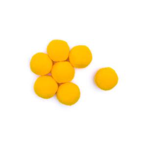 Pompom-Solto-10mm-com-100-Luli---Cor-09-Amarelo-Ouro