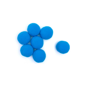 Pompom-Solto-10mm-com-100-Luli---Cor-12-Azul-Escuro