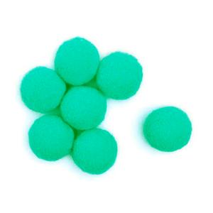 Pompom-Solto-20mm-com-50-Luli---Cor-13-Turquesa