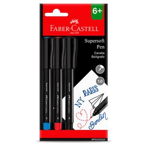 Caneta-Supersoft-1.0mm-com-3---Faber-Castell