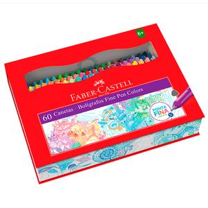 Estojo-Caneta-Fine-Pen-com-60-cores---Faber-Castell