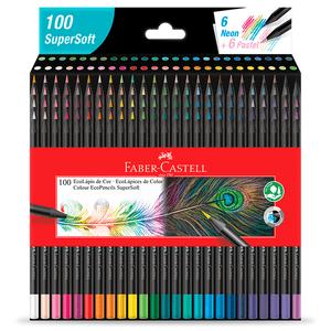 Ecolapis-de-Cor-Supersoft-100-Cores---Faber-Castell