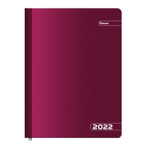 Agenda-Executiva-Compacta-Color-Vermelha-2022---Foroni