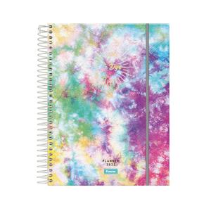 Agenda-Espiral-Planner-Tie-Dye-2022-1---Foroni