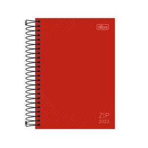 Agenda-Espiral-Zip-Vermelha-M5-2022---Tilibra