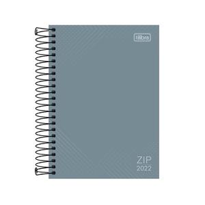 Agenda-Espiral-Zip-Cinza-M5-2022---Tilibra