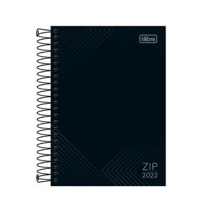 Agenda-Espiral-Zip-Preta-M5-2022---Tilibra
