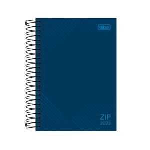 Agenda-Espiral-Zip-Azul-M5-2022---Tilibra