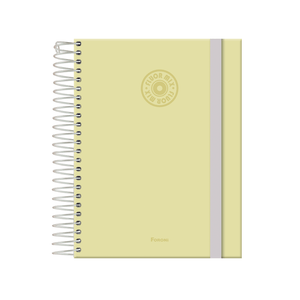 Agenda-Espiral-Fluor-Mix-Soft-Amarelo-2022---Foroni