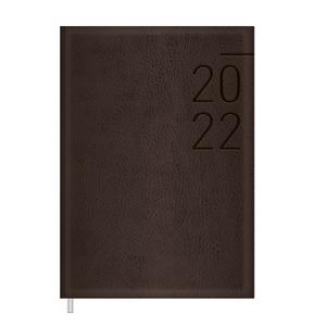 Agenda-Executiva-Costurada-Marrom-M6-2022---Tilibra
