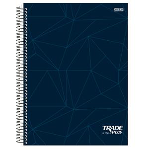 Agenda-Espiral-Anual-Trade-Plus-2022-Azul---Sao-Domingos