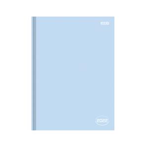 Agenda-Anual-Costurada-Percalux-Colors-2022-Azul---Sao-Domingos