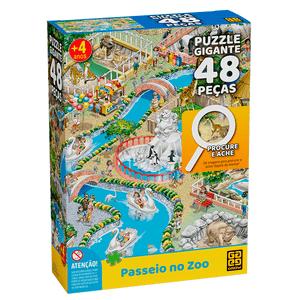Quebra-Cabeca-Gigante-48-Pecas-Procure-e-Ache-Zoo---Grow