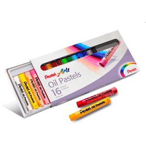 Giz-Pastel-Oleoso-16-Cores---Pentel