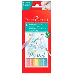 Ecolapis-de-Cor-Aquarelavel-Pastel-com-10-Cores---Faber-Castell
