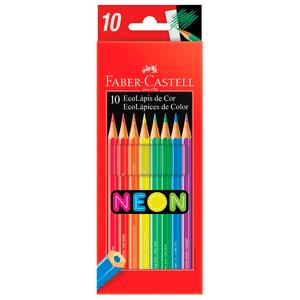 Ecolapis-de-Cor-Sextavado-Neon-com-10-Cores---Faber-Castell