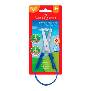 Tesoura-Vai-e-Vem-Azul---Faber-Castell