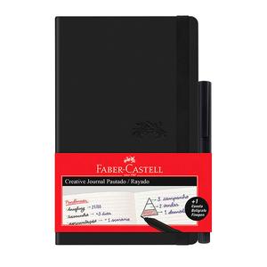 Caderneta-Creative-Journal-Preta-84-Fls---Fine-Pen---Faber-Castell