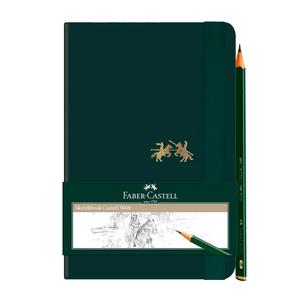 Caderneta-Sketchbook-C9000-sem-Pauta-com-Ecolapis---Feber-Castell