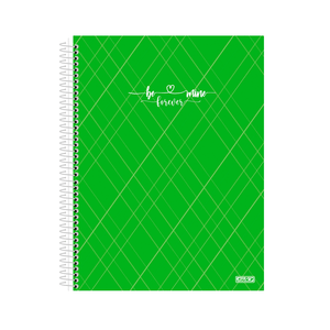 Caderno-Colegial-5x1-80-Fls-C.D.-Sao-D.---Be-Mine-Verde